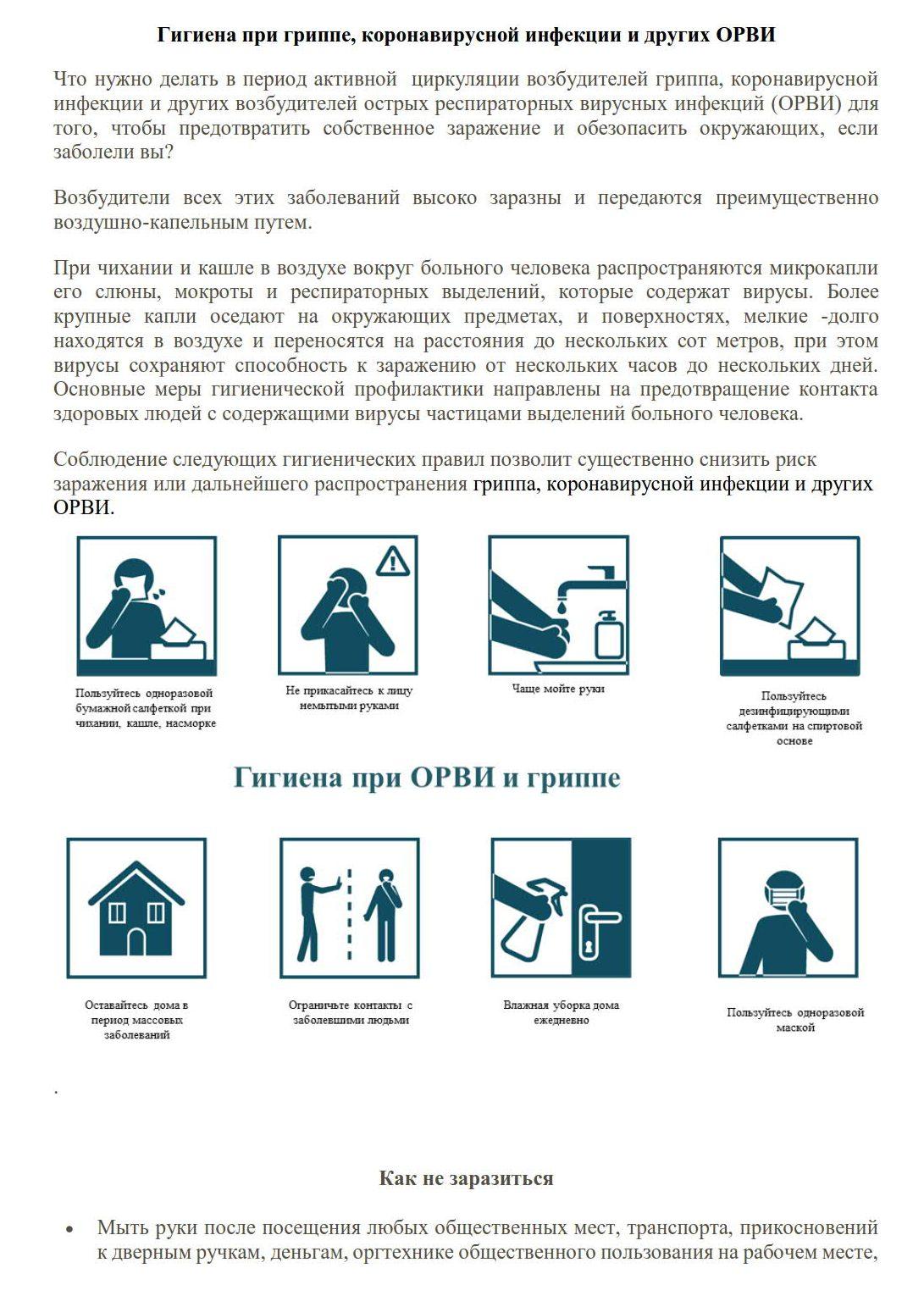 Гигиена при гриппе, коронавирусной мнфекции и других орви 30.01.2020_1