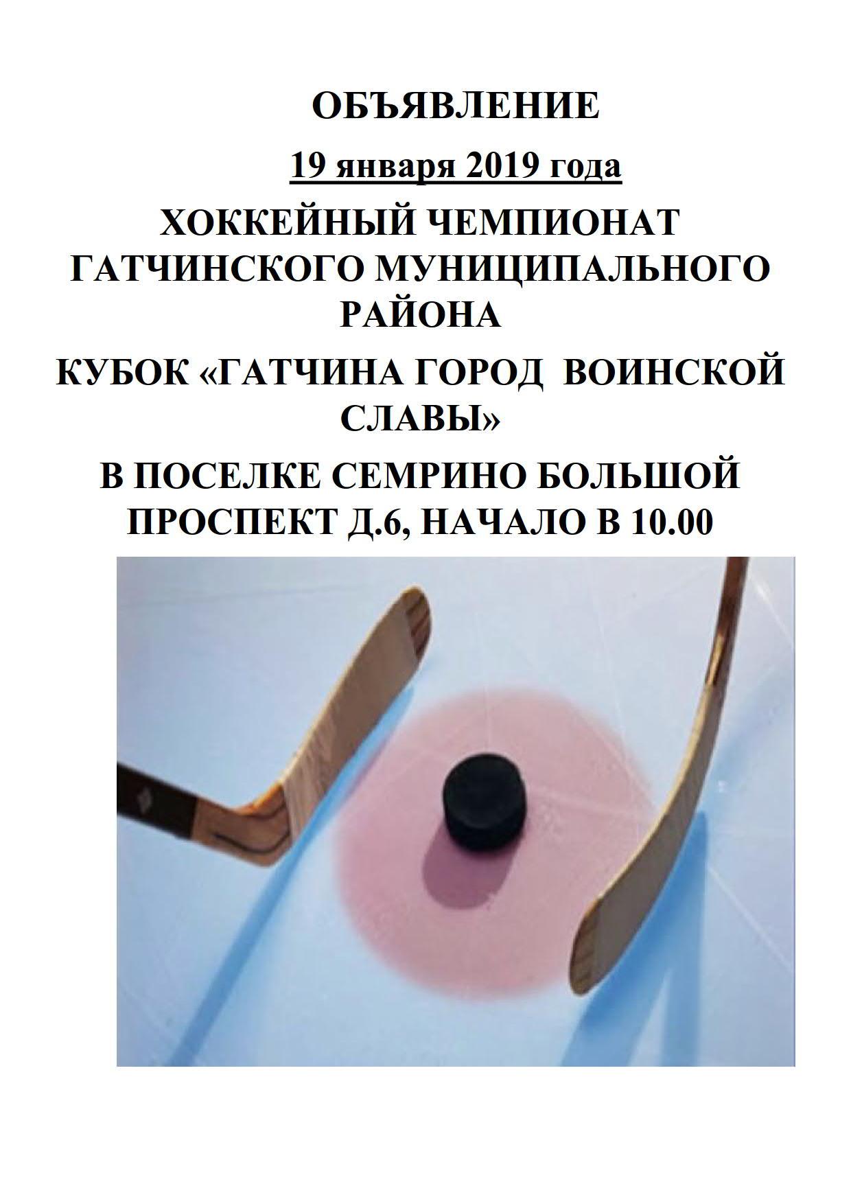 ОБЪЯВЛЕНИЕ Хоккей 19.01.2019_1
