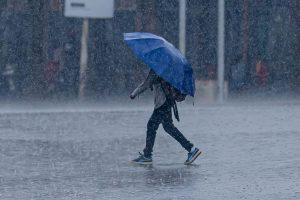 дождь сильный